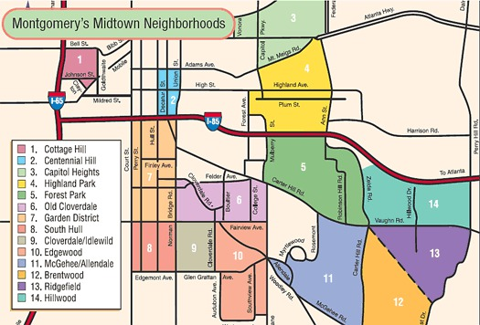 montgomery midtown map